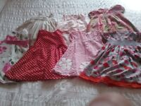 Baby girl summer clothes bundle 12-18 months (42 items)