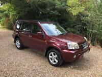 NISSAN X-TRAIL SVE AUTO LEATHER (red) 2003