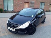 AUTOMATIC VAUXHALL CORSA 2009 . 5 DOOR. ONLY 49 K MILES . SUPERB DRIVE . BARGAIN