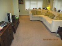 Lounge carpet 20ft long x 10ft 8ins wide.