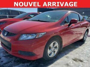 2013 Honda Civic LX Manuel 2 Portes $57/SEMAINE $0 COMPTANT