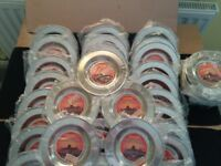 120 x CHAPPATI PLATES BUFFET BRAND NEW SERVING ROUND SHALLOW SNACK DISH
