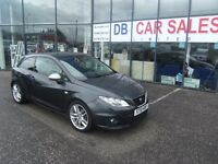 2010 10 SEAT IBIZA 1.4 FR TSI DSG 3d AUTO 150 BHP**** GUARANTEED FINANCE **** PART EX WELCOME ****