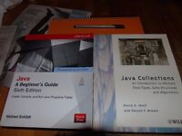 Java: A Beginner's Guide, Sixth Edition + Java Collections : An Introduction to Abstract Data Types