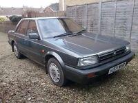 Nissan Bluebird 1.6 1990 saloon, genuine 45,000miles