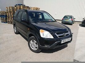 Bargain 2002 Honda CRV jeep automatic