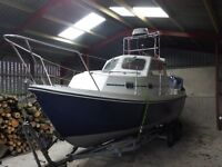 20ft Orkney Orkadian day fishing boat
