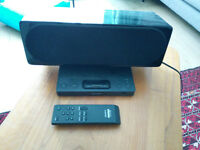Sony SRS GU10IP iPod dock and remote