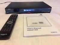 Humax Foxsat-HDR, Freesat+ Satellite HD Digital TV Recorder 320GB with Remote Control & Instructions
