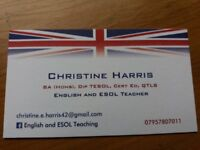 English Teacher offering home tuition for SATs, GCSEs or for support - experienced and qualified