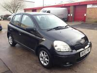 Toyota yaris 1.3 petrol 2003 CAT-c