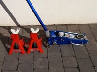 Trolley Jack and Axle Stands