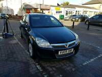 09 PLATE VAUXHALL ASTRA. 1.3 CDTI TURBO DIESEL. LONG MOT. PX WELCOME