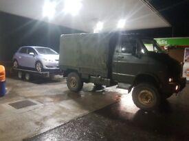 Reynold boughton rb44 4x4 unimog camper