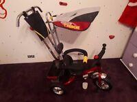 Kids Qiante Trike with Parent Handle