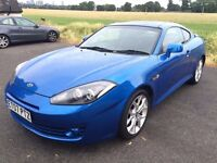 HYUNDAI COUPE SIII 2L With Low Mileage at 56000, Full Leather Interior And Full Service History.