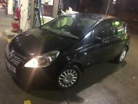 VAUXHALL CORSA 1.0 59K MILES 5 DOOR 10 MONTHS MOT BLACK CD/RADIO CHEAP CAR!! BARGAIN!!