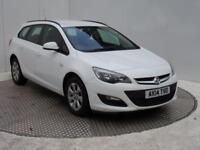 Vauxhall Astra DESIGN (white) 2014-06-06