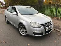 2006/56 Volkswagen Jetta 2.0 TDI SE 6G 140BHP Full VW Dealership Service History Timing Belt Changed