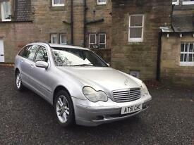 Mercedes Benz C Class 2.7 Diesel Auto Estate New MOT £600 + spent!!!!
