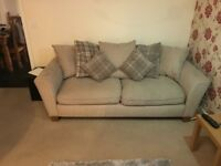 3 seater sofa and swivel Chair for sale