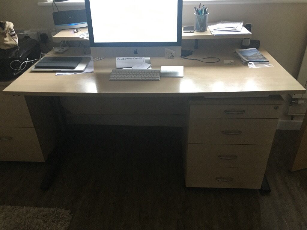 Home office furniture Free for collectionin Lewes, East SussexGumtree - Free if you collect the lot! Located Newick. Can be disassembled for transport if necessary