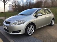 LHD LEFT HAND DRIVE TOYOTA AURIS 2.2 D-4D LUNA SAT NAV 6 SPEED 5DR WARRANTY PART EXCHANGE WELCOME