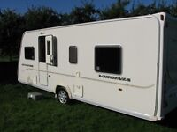 Bailey Senator Virginia S6, 4 berth, fixed island bed, motor mover and tracker, lovely condition!