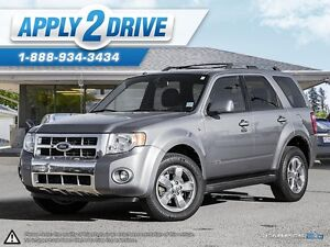 2008 Ford Escape Limited Loaded Leather Sunroof 4wd and more! Edmonton Edmonton Area image 1