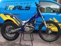 Sherco 250 2017 trials bike