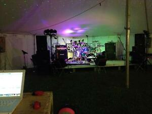 An awesome Soundman with P.A. & lights available for hire