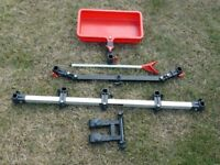 Octoplus Multifit 900 Multibeam, Umbrella Bridge/Pole support, Deep Swivel Tray & Brolly Double Arm