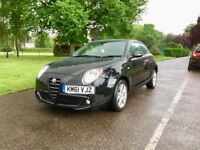 2012 | Alfa Romeo Mito 1.4 16v Sprint 3dr | Low 36000 Miles Only | Black Sporty | Alfa Romeo