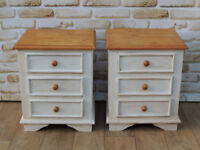 Pair of Bedside Cabinets (Delivery)