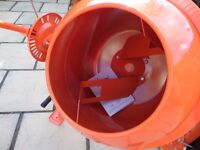 unused concrete mixer(electric 70L)