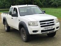2007 FORD RANGER SUPER CAB 4WD 2.5 TDI NEW SHAPE NEW CLUTCH 4 DOOR BARGAIN L200 HILUX WORKHORSE