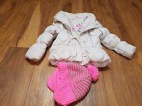 Girl winter coats age 4-7 years