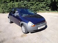 2001 Ford KA. MOT April 2017. 1.3 litre, low tax and insurance. Great little car.