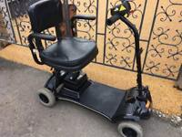 Immaculate little star light weight fold flat mobility scooter, new batteries, can deliver for fuel