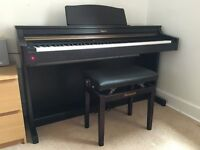 Digital Piano & stool - Roland HP103 Rosewood. Excellent condition