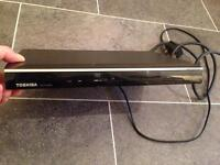 Toshiba DVD Player and remote