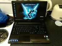 Gaming laptop i7-6500U, 16gb, 128gb SSD, 1TB hdd, GTX 950 4GB