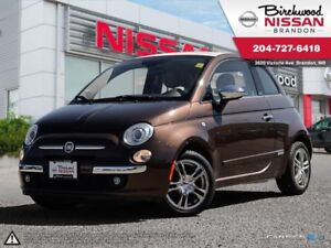 2013 Fiat 500C Lounge Convertible! Leather! ONE Owner!