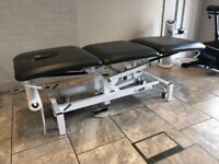 Plinth 3 Section Examination/Massage/Physio/Osteopath Couch - Electric Ash Grey