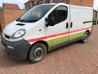 Vauxhall vivaro 1.9 cdti 6 Speed 1 company owner 2006 registration