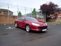 Peugeot 407 coupe 2,0 HDI 2008
