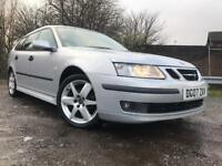 Saab 9-3 Vector Sport Estate Automatic 2007 Long Mot Low Mileage Drives Great High Spec Towbar !!!