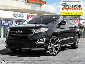 2016 Ford Edge Sport>>>NAV, suede seats, sunroof<<<
