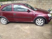 Breaking for Spares Vauxhall Corsa 53 Plate