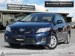 2013 TOYOTA COROLLA POWER GROUP - 1 OWNER|LOADED|WARRANTY